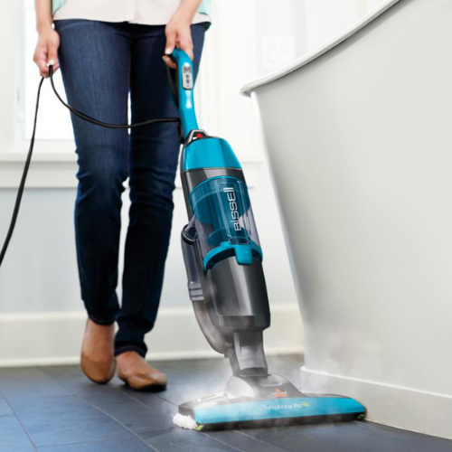 Up to 40% Off Bissell Symphony Plus All-in-One Vac & Steam Mop with Accessories