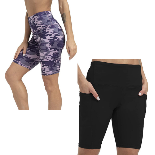Women's Workout Shorts for only $6.99 on Amazon