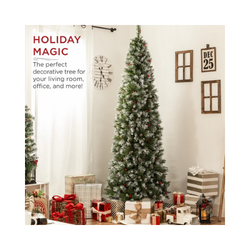 50% Off Pre-Decorated Christmas Tree