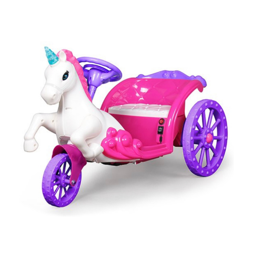 Almost $200 Off Best Ride On Cars Pink & Purple Unicorn Carriage on Zulily