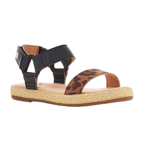 60% Off Girls' UGG Rynell Leopard Strappy Sandal on Shoes.com