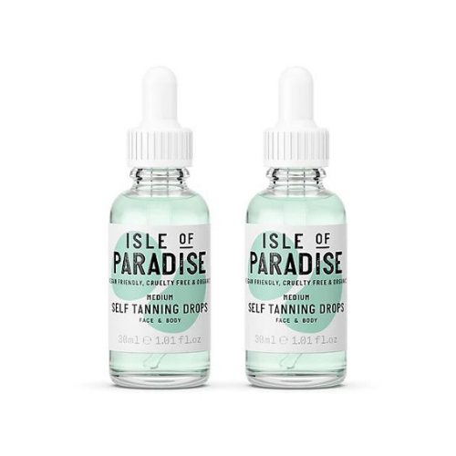 Over 50% Off Isle of Paradise Self-Tanning Drops Duo on QVC