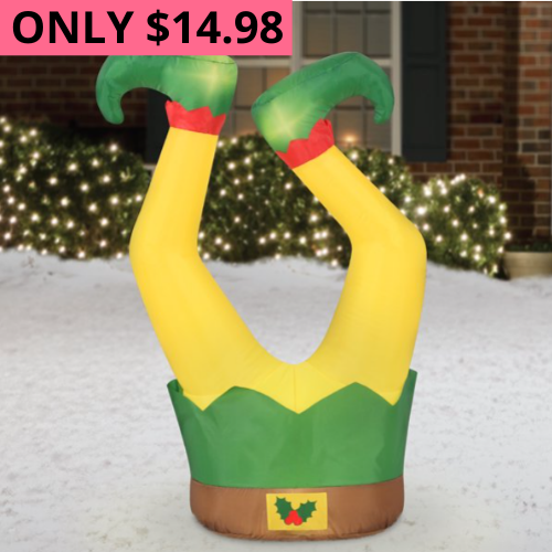 As LOW as $14.98 Christmas Inflatables from Walmart