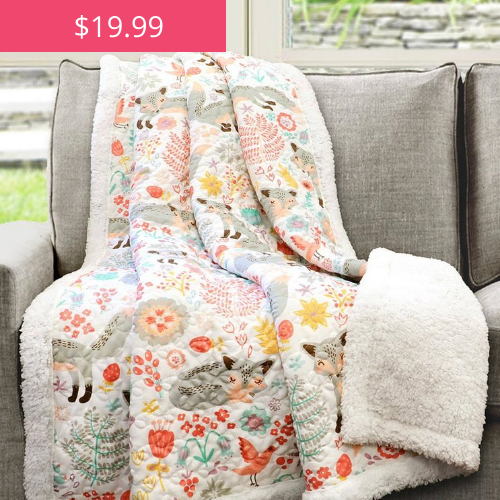 Up to 60% OFF Quilted Throws on Zulily