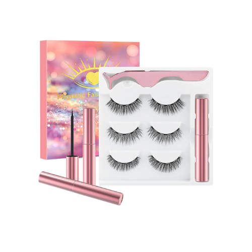 50% Off Magnetic Lashes with Eyeliner